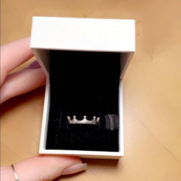 Pandora Polished Crown Ring